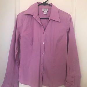 Long Sleeve Button Down Women's Blouse